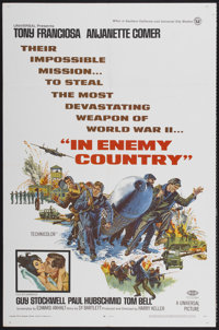 "In Enemy Country (Universal, 1968). One Sheet (27"" X 41""). Action"