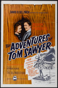 """Movie Posters:Adventure, The Adventures of Tom Sawyer (New Trends, R-1966). One Sheet (27"""" X41""""). Adventure...."""