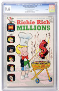 Bronze Age (1970-1979):Cartoon Character, Richie Rich Millions #49 File Copy (Harvey, 1971) CGC NM+ 9.6Off-white to white pages....