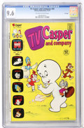 Bronze Age (1970-1979):Cartoon Character, TV Casper and Company #44 File Copy (Harvey, 1973) CGC NM+ 9.6Off-white to white pages....