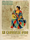 "Movie Posters:Comedy, The Golden Coach (Corona, 1953). French Grande (47"" X 63"")...."
