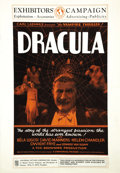 "Movie Posters:Horror, Dracula (Universal, 1931). Pressbook (13.5"" X 19.5"") (8 Pages)...."