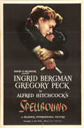 "Movie Posters:Hitchcock, Spellbound (United Artists, 1945). One Sheet (27"" X 41"")...."