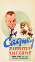 "Movie Posters:Comedy, Jimmy the Gent (Warner Brothers, 1934). Midget Window Card (8"" X14"")...."