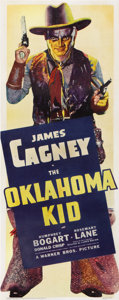 "Movie Posters:Western, The Oklahoma Kid (Warner Brothers, 1939). Insert (14"" X 36"")...."
