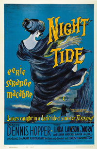 "Night Tide (American International, 1961). One Sheet (27"" X 41"") Style B"