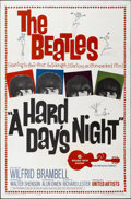 """Movie Posters:Rock and Roll, A Hard Day's Night (United Artists, 1964). One Sheet (27"""" X 41"""")...."""