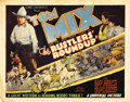 "Movie Posters:Western, The Rustlers' Roundup (Universal, 1933). Title Lobby Card (11"" X14"")...."