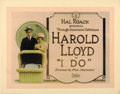 "Movie Posters:Comedy, I Do (Pathé, 1921). Title Lobby Card (11"" X 14"")...."
