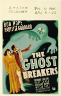 "Movie Posters:Comedy, The Ghost Breakers (Paramount, 1940). Window Card (14"" X 22"")...."
