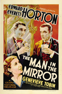 "Man in the Mirror (Grand National, 1936). One Sheet (27"" X 41"")"
