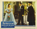 "Movie Posters:Hitchcock, Rebecca (United Artists, 1940). Lobby Card (11"" X 14"")...."