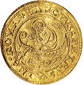 Italy:Papal States, Italy: Papal States. Leo X gold Fiorino di Camera ND (1513-21),Friedberg 48, Berman 634, MS63 NGC, boldly struck and lustrous, an...