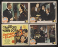 "Movie Posters:War, Reunion in France (MGM, 1942). Title Lobby Card (11"" X 14"") andLobby Cards (3) (11"" X 14""). War. Starring Joan Crawford, Jo...(Total: 4 Items)"