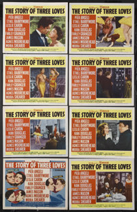 "The Story of Three Loves (MGM, 1953). Lobby Card Set of 8 (11"" X 14""). Romance. Starring Pier Angeli, Ethel Ba..."