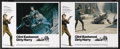 """Movie Posters:Crime, Dirty Harry (Warner Brothers, 1971). Lobby Cards (2) (11"""" X 14"""").Crime. Starring Clint Eastwood, Reni Santoni, Harry Guardi...(Total: 2 Items)"""