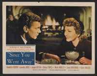 "Since You Went Away (United Artists, 1944). Lobby Cards (2) (11"" X 14""). Drama. Starring Claudette Colbert, Je..."