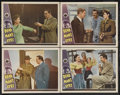 "Movie Posters:Horror, Dead Man's Eyes (Universal, 1944). Lobby Cards (4) (11"" X 14"").Horror. Starring Lon Chaney, Jr., Jean Parker, Paul Kelly, T...(Total: 4 Items)"