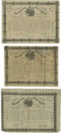 Confederate Notes:Group Lots, Ball 143; 144; 146 Cr. 108; 107; UNL $1000; $500; $1000 Bonds 1863.Ball 143 grades VF with pinholes, Ball 144 grades ... (Total: 3items)