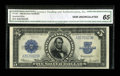 Large Size:Silver Certificates, Fr. 282 $5 1923 Silver Certificate CGA Gem Uncirculated 65....