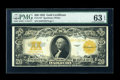Large Size:Gold Certificates, Fr. 1187 $20 1922 Gold Certificate PMG Choice Uncirculated 63 EPQ....
