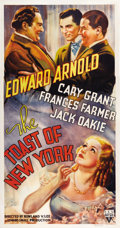 "Movie Posters:Drama, The Toast of New York (RKO, 1937). Three Sheet (41"" X 81"")...."