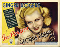 "Movie Posters:Comedy, In Person (RKO, 1935). Title Lobby Card (11"" X 14"")...."