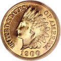 Proof Indian Cents, 1900 1C PR67 Red Cameo PCGS....