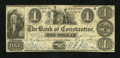 Obsoletes By State:Michigan, Constantine, MI- Bank of Constantine $1 July 1, 1839. ...