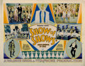 """Movie Posters:Musical, Show of Shows (Warner Brothers, 1929). Half Sheet (22"""" X 28"""").. ..."""