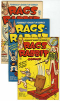 Golden Age (1938-1955):Funny Animal, Rags Rabbit Comics File Copies Group (Harvey, 1951-52) Condition:Average VF/NM.... (Total: 6 Comic Books)