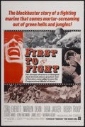 """Movie Posters:War, First to Fight (Warner Brothers, 1967). One Sheet (27"""" X 41"""").War...."""