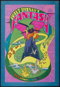 "Movie Posters:Animated, Fantasia (Buena Vista, R-1970). One Sheet (27"" X 41"") and Program(8"" X 10""). Animated.... (Total: 2 Items)"