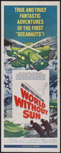 "Movie Posters:Documentary, World Without Sun (Columbia, 1964). Insert (14"" X 36""). Documentary...."
