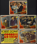 """Movie Posters:Drama, Goodbye, Mr. Chips (MGM, 1939). Title Lobby Card and Lobby Cards(4) (11"""" X 14""""). Drama.... (Total: 5 Items)"""