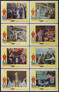 "The Agony and the Ecstasy (20th Century Fox, 1965). Lobby Card Set of 8 and Deluxe Stills (4) (11"" X 14""). Dra..."