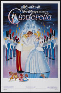 "Movie Posters:Animated, Cinderella (Buena Vista, R-1987). One Sheet (27"" X 41"").Animated...."