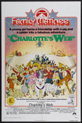 "Movie Posters:Animated, Charlotte's Web (Paramount, R-1974). One Sheet (27"" X 41"").Animated...."