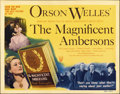 "Movie Posters:Drama, The Magnificent Ambersons (RKO, 1942). Title Lobby Card (11"" X14"")...."