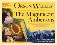"The Magnificent Ambersons (RKO, 1942). Title Lobby Card (11"" X 14"")"