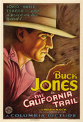 "Movie Posters:Western, The California Trail (Columbia, 1933). One Sheet (27"" X 41"")...."