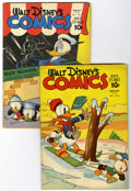 Golden Age (1938-1955):Cartoon Character, Walt Disney's Comics and Stories #29 and 30 Group (Dell, 1943)....(Total: 2 Comic Books)