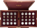 Modern Issues, Atlanta Olympics 32-Coin Commemorative Set in Original Box of Issue....