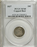 Bust Dimes: , 1837 10C XF40 PCGS. PCGS Population (3/96). NGC Census: (4/106).Mintage: 359,500. Numismedia Wsl. Price for NGC/PCGS coin ...