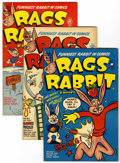 Golden Age (1938-1955):Funny Animal, Rags Rabbit Comics #12-18 File Copies Group (Harvey, 1951-54)Condition: Average VF.... (Total: 7 Comic Books)