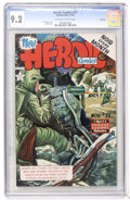 Golden Age (1938-1955):Non-Fiction, Heroic Comics #77 File Copy (Eastern Color, 1952) CGC NM- 9.2Off-white to white pages....
