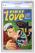 Golden Age (1938-1955):Romance, First Love Illustrated #35 File Copy (Harvey, 1953) CGC NM 9.4Cream to off-white pages....