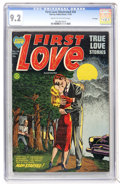 Golden Age (1938-1955):Romance, First Love Illustrated #34 File Copy (Harvey, 1953) CGC NM- 9.2Cream to off-white pages....
