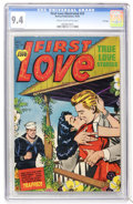 Golden Age (1938-1955):Romance, First Love Illustrated #33 File Copy (Harvey, 1953) CGC NM 9.4Cream to off-white pages....