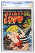 Golden Age (1938-1955):Romance, First Love Illustrated #30 File Copy (Harvey, 1953) CGC NM 9.4Cream to off-white pages....